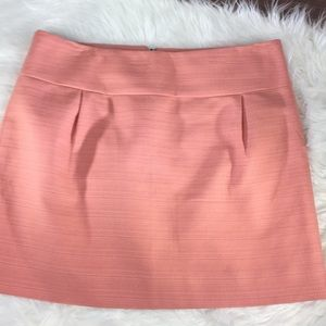 J. Crew textured cotton mini fully lined